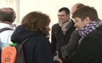 """Видеорепортаж """"День миссии перед собором Парижской Богоматери"""""""