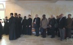 Видео: Вечерня Пасхи и закладка нового храма в семинарии