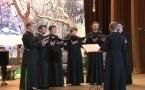 Выступление хора семинарии на Новогоднем концерте в Посольстве России в Париже