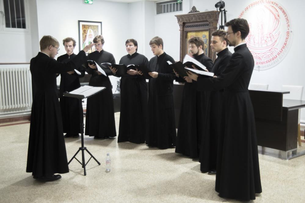 Фоторепортаж Рождественского концерта в семинарии
