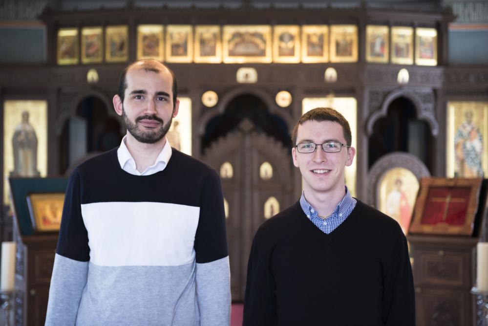 Два учащихся католической семинарии провели неделю в нашем Центре
