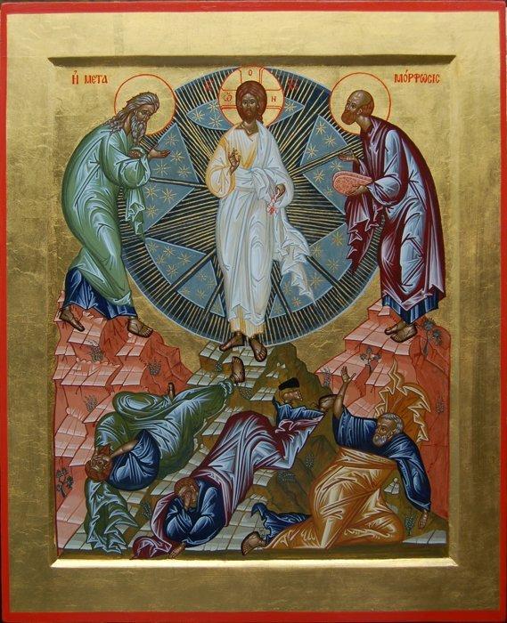 Преображенный Христос - это будущее человечества. Проповедь в праздник Преображения Господня