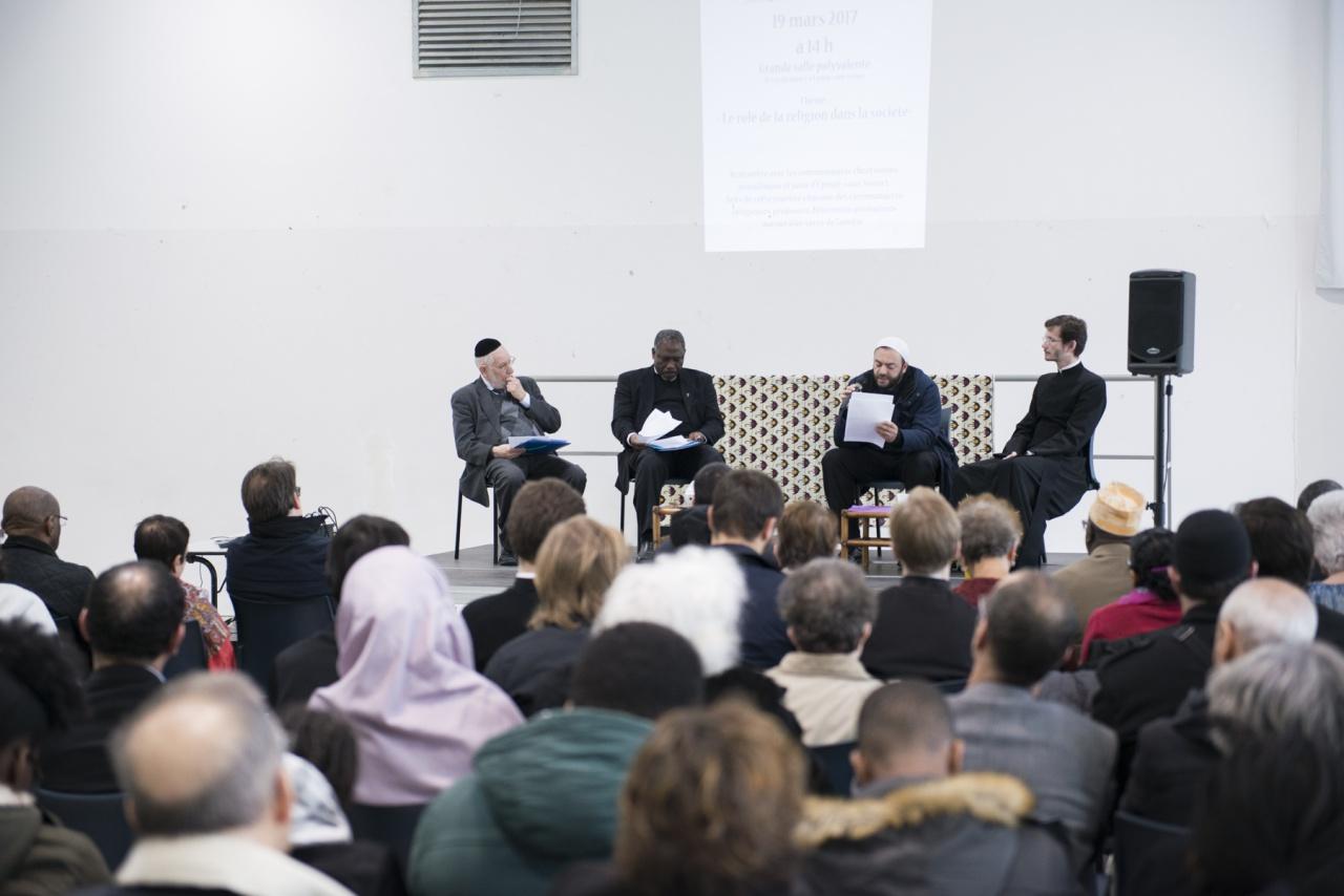 В Эпине-су-Сенар прошла вторая межрелигиозная встреча