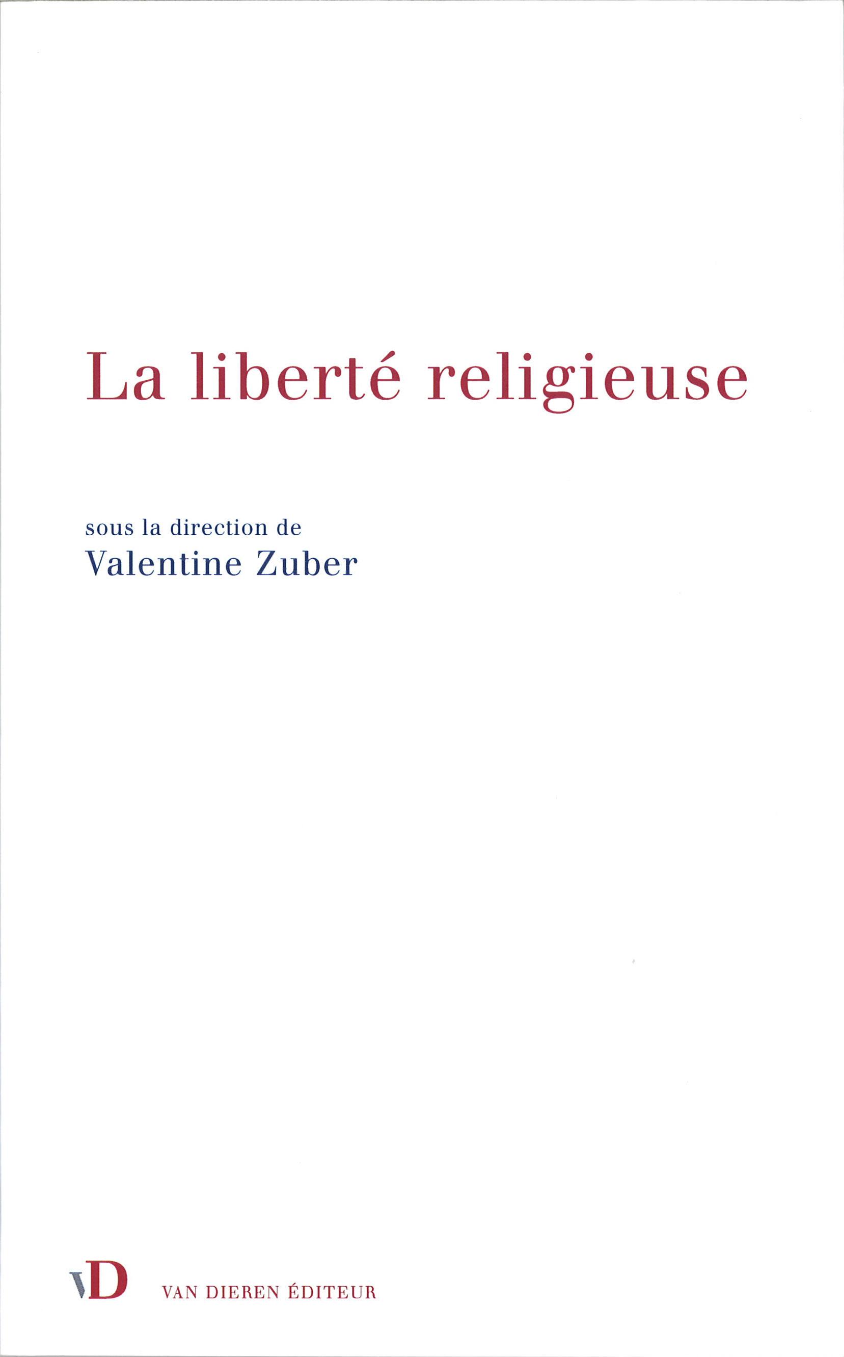 Вышел в свет коллективный труд о свободе вероисповедания