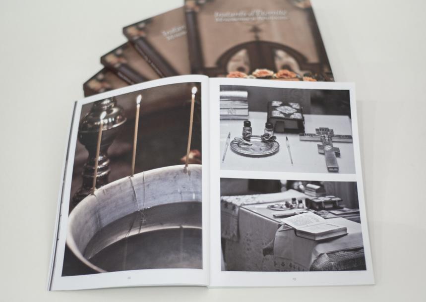 """""""Мгновение и вечность"""". Книга-альбом о жизни Трехсвятительского храма в Париже"""
