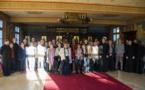 Семинарию посетили диаконы местной католической епархии и их жены