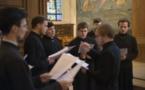 Акафист преподобной Женевьеве в церкви св. Мартина в Медоне
