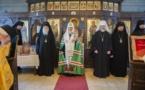 Слово Святейшего Патриарха Кирилла после молебна в домовой церкви семинарии