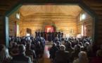 Фотографии рождественского концерта хора семинарии в русской церкви Сильванеса