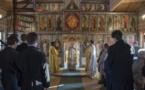 Литургия с епископом Нестором. Визит делегации католических приходов гг. Йер и Монжерона