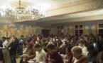 Члены Общины Chemin Neuf на воскресной вечерне в нашей обители