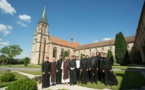 Участники нашего летнего лагеря семинаристов посетили аббатство Отрей в Вогезах