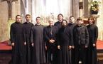 Группа семинаристов посетила Понтуазскую епархию