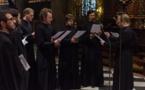Православная вечерня в соборе Парижской Богоматери