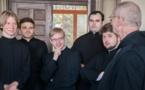 Второй день паломничества в Люксембург: Божественная литургия и визит в аббатство Клерво