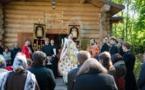 В четверг Светлой Седмицы литургию и крестный ход в семинарии возглавил епископ Нестор