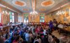 Семинарию посетили ученики школы святого Мартина г. Палезо