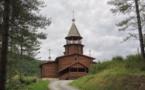 В субботу 2 июля мы совершим литургию в русской деревянной церкви Сильванеса