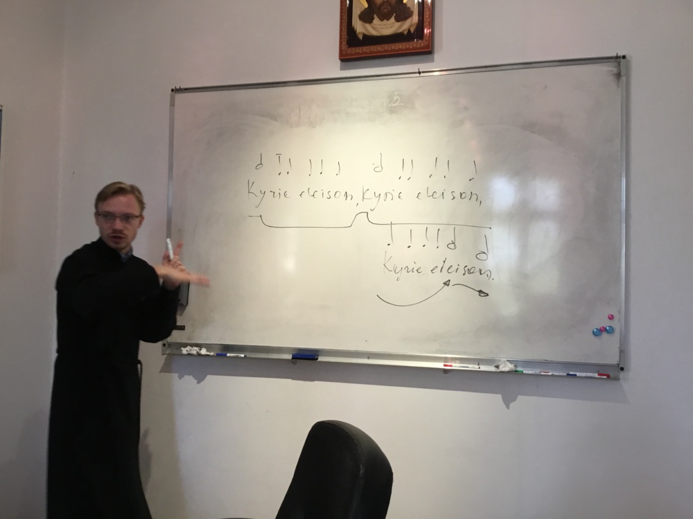 Курсы для группы православных верующих с Мартиники