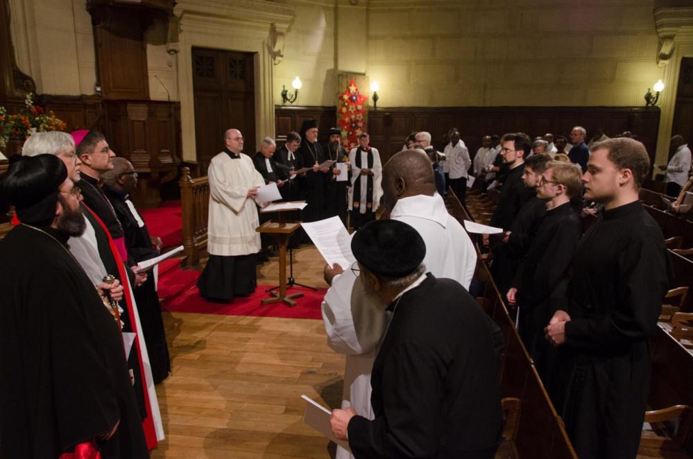 Хор семинарии принял участие в молитве о единстве христиан в Париже