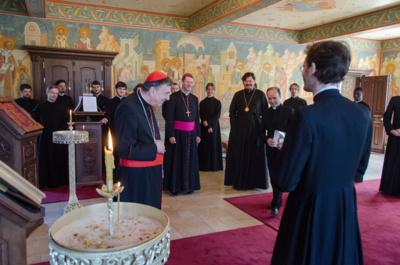 Наш Центр посетил председатель папского совета по содействию христианскому единству кардинал Курт Кох