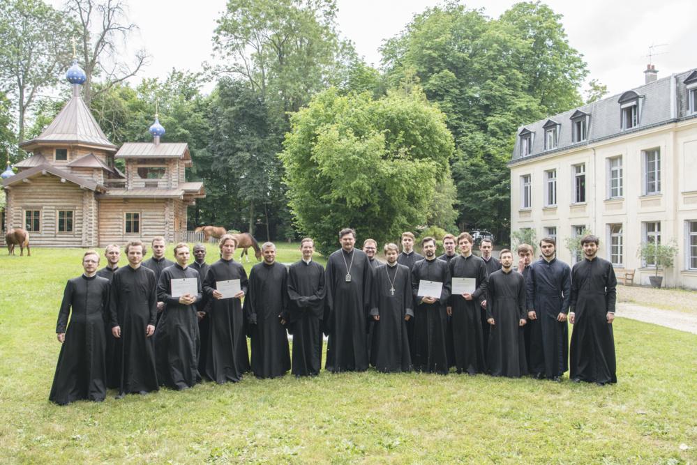 Окончание учебного года в Центре. Хиротония в пресвитеры иеродиакона Петра (Смирнова)