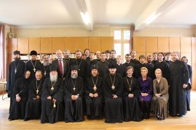 Состоялось торжественное открытие второго учебного года в Русской семинарии