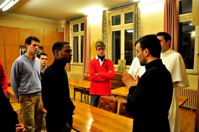 Русскую семинарию посетили католические семинаристы Парижского региона