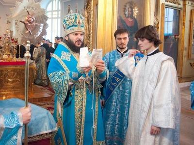 Епископ Гатчинский Амвросий совершил диаконскую хиротонию Александра Зиновкина