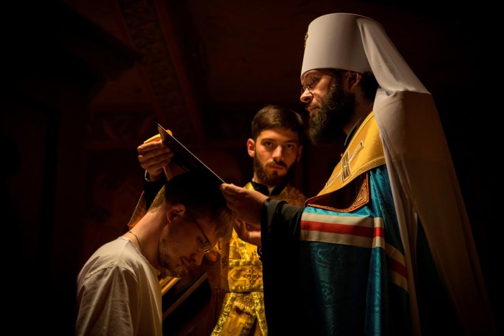 Сергей Волков принял монашеский постриг