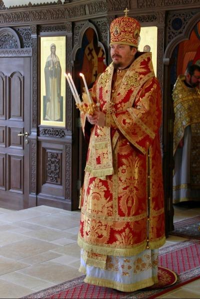 Епископ Нестор совершил чин закладки нового храма семинарии в честь Рождества Пресвятой Богородицы