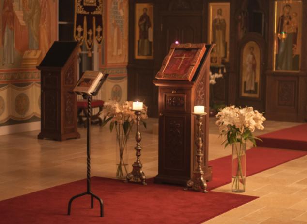 Чтение великого покаянного канона преподобного Андрея Критского в семинарии (фоторепортаж)