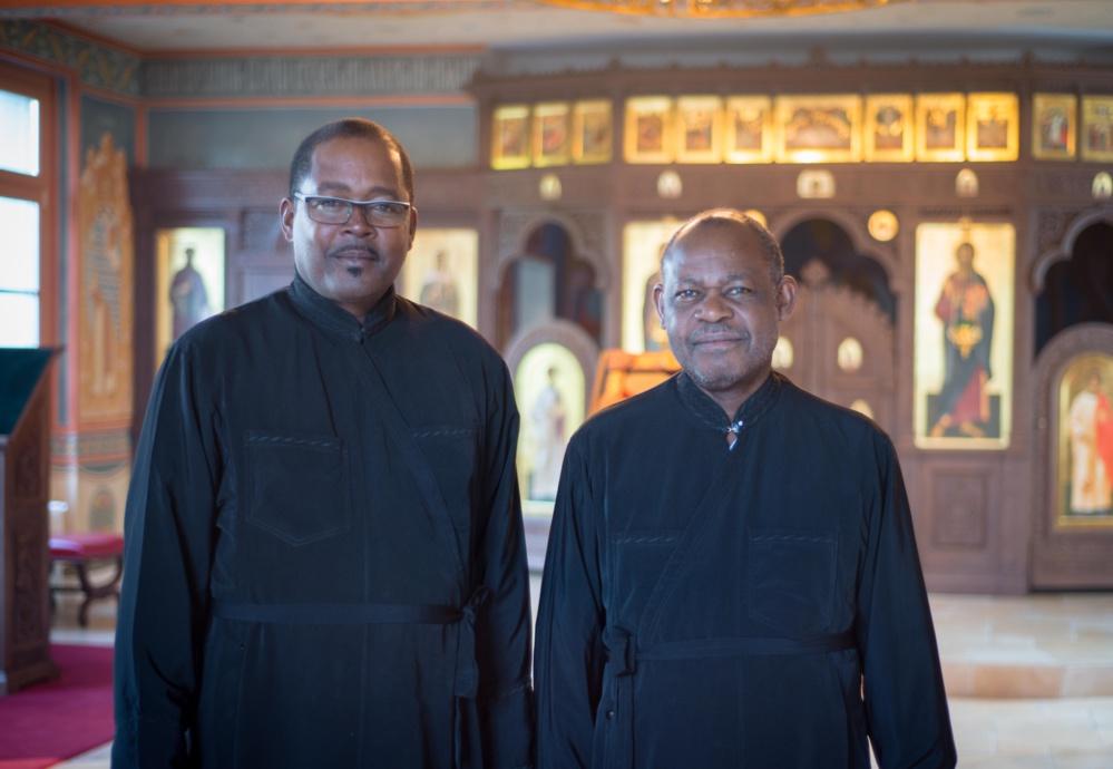 Два православных с Мартиники проходят стажировку в семинарии