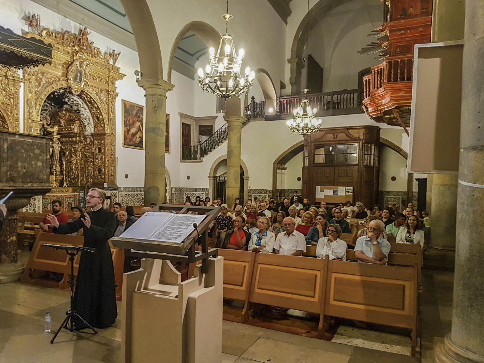 Концерт в кафедральном соборе Фару (Португалия)