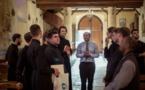 Летний лагер семинаристов из России и Украины. Пребывание в центре Франции
