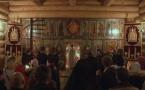 Репортаж о ночном пасхальном богослужении в семинарии