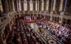 Совместный концерт с католическими семинаристами в семинарии Сен-Сюльпис в Исси-ле-Мулино