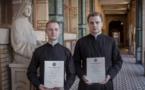 """Два наших семинариста получили диплом """"Религии, светскость и межкультурное сотрудничество"""""""