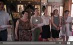 Видеозапись: Хор мирян нашего Центра исполняет по-французски Херувимскую песнь