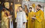 Хиротония в диаконы монаха Иринея (Грибова)