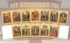 Семинария выпустила открытки с изображениями икон домового храма